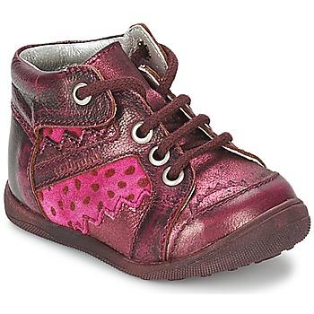 Pantofi Fete Ghete Catimini CABILLAUD Roz / Maro