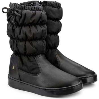 Pantofi Fete Cizme Bibi Shoes Cizme Fete Bibi Urban Inalte Negru Negru