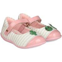 Pantofi Fete Balerin și Balerini cu curea Bibi Shoes Balerini Rainbow Mini Cactus Roz