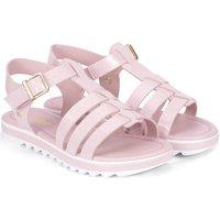 Pantofi Fete Sandale  Bibi Shoes Sandale Fete Bibi Flat Form Roz Roz