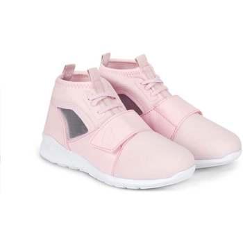 Pantofi Fete Sneakers Bibi Shoes Pantofi Sport Fete Bibi Easy Roz Roz