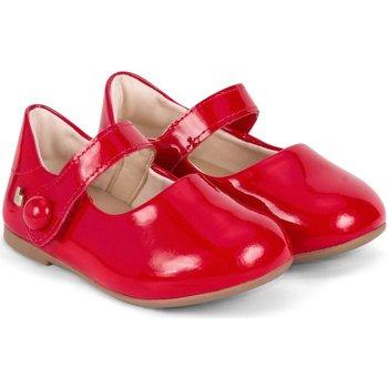 Pantofi Fete Balerin și Balerini cu curea Bibi Shoes Balerini Bibi Anjos Mini Rosii Rosu