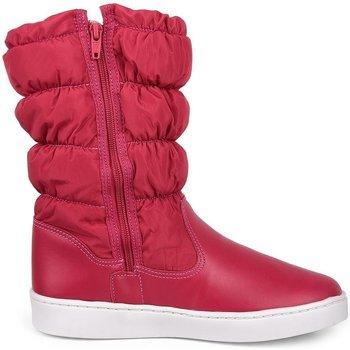 Pantofi Fete Cizme Bibi Shoes Cizme Fete Bibi Urban Inalte Rodie Bordo