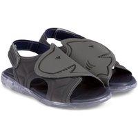Pantofi Băieți Sandale  Bibi Shoes Sandale Baieti Bibi Funny Light Gri-Rechin Gri