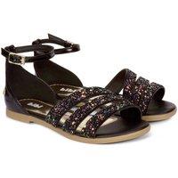 Pantofi Fete Sandale  Bibi Shoes Sandale Fete Bibi Party Negre-Glitter Negru