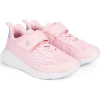 Pantofi Fete Sneakers Bibi Shoes Pantofi Sport Fete Bibi Evolution Up Roz Cu Led Roz