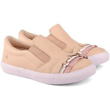 Pantofi Fete Pantofi sport Casual Bibi Shoes Pantofi Fete Bibi Agility Sampanie Cu Volane Crem