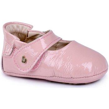 Pantofi Fete Balerin și Balerini cu curea Bibi Shoes Balerini BIBI Afeto New Sweet Roz