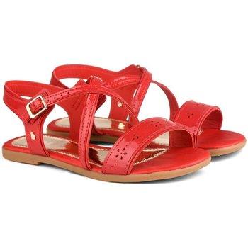 Pantofi Fete Sandale  Bibi Shoes Sandale Fete Bibi Party Rosii Rosu