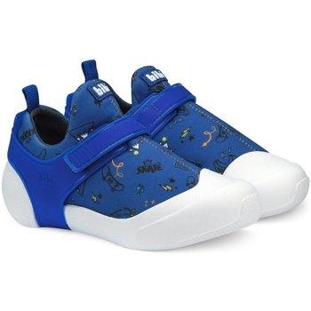 Pantofi Băieți Pantofi sport Casual Bibi Shoes Pantofi Baieti BIBI 2way Albastru Cu Imprimeu Bleumarin