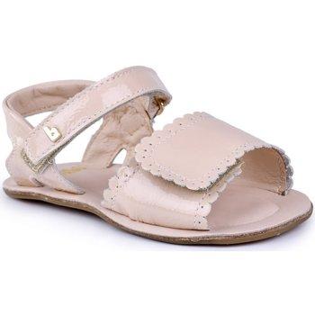 Pantofi Fete Sandale  Bibi Shoes Sandale fetite Bibi Afeto Sampanie Crem