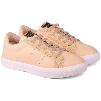 Pantofi Fete Pantofi sport Casual Bibi Shoes Pantofi Fete Bibi Agility Kids Sampanie Crem