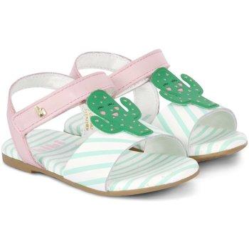 Pantofi Fete Sandale  Bibi Shoes Sandale Fete Bibi Baby Birk Roz-Cactus Roz