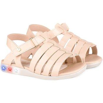 Pantofi Fete Sandale  Bibi Shoes Sandale Fete Bibi Star Light Sampanie Roz