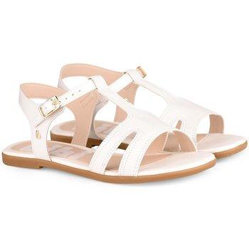 Pantofi Fete Sandale  Bibi Shoes Sandale Fete Bibi Fresh Albe Alb