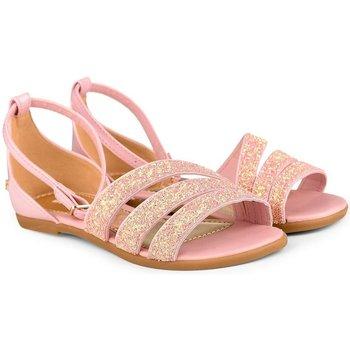 Pantofi Fete Sandale  Bibi Shoes Sandale Fete Bibi Party Roz-Glitter Roz