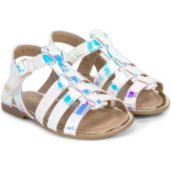 Pantofi Fete Sandale  Bibi Shoes Sandale Fete Miss Bibi Holografic Albastru aqua holografic