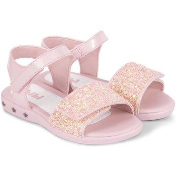 Pantofi Fete Sandale  Bibi Shoes Sandale Fete Bibi Star Light Roz-Glitter Roz