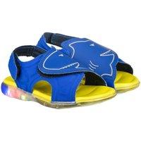 Pantofi Băieți Sandale  Bibi Shoes Sandale Baieti Bibi Funny Light Albastre-Rechin Albastru