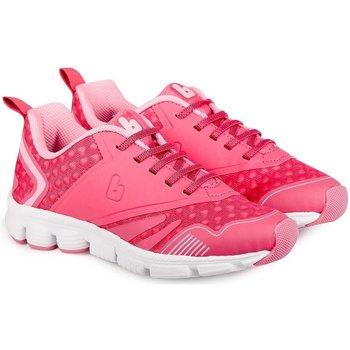 Pantofi Fete Sneakers Bibi Shoes Pantofi Sport Fete Bibi Icon Ciclamen/Disco Roz