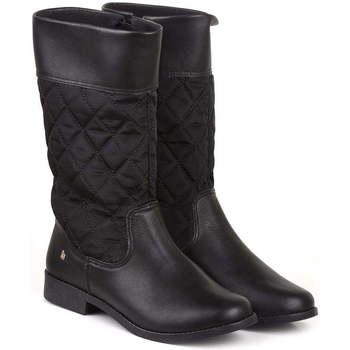 Pantofi Fete Cizme Bibi Shoes Cizme Fete Bibi Classic Inalte Negru