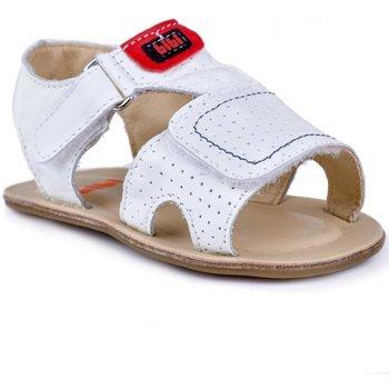 Pantofi Băieți Sandale  Bibi Shoes Sandale baieti BIBI Afeto Albe Alb