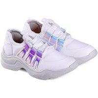 Pantofi Fete Sneakers Bibi Shoes Pantofi Sport Fete Bibi Chunky Albi – Colectia Ugly Shoes Alb