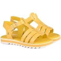 Pantofi Fete Sandale  Bibi Shoes Sandale Fete Bibi Flat Form Galbene Galben