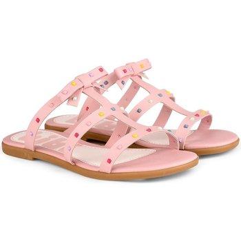 Pantofi Fete Sandale  Bibi Shoes Papuci Fete Bibi Fresh Roz Roz