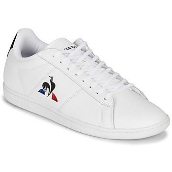 Pantofi Bărbați Pantofi sport Casual Le Coq Sportif COURTSET Alb / Bleumarin