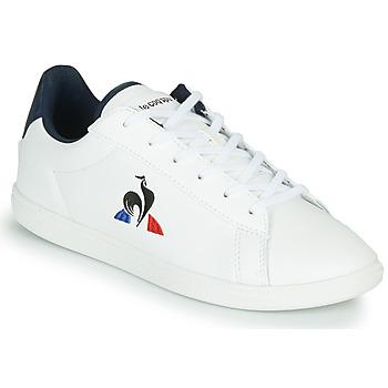 Pantofi Copii Pantofi sport Casual Le Coq Sportif COURTSET GS Alb / Albastru