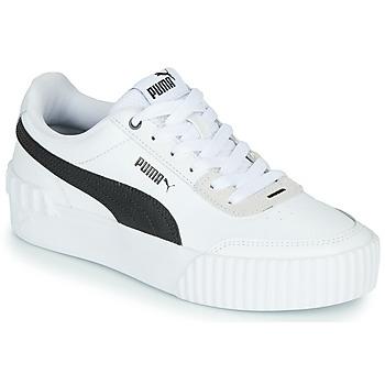 Pantofi Femei Pantofi sport Casual Puma CARINA LIFT Alb / Negru / Gri