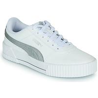 Pantofi Femei Pantofi sport Casual Puma CARINA Alb / Argintiu