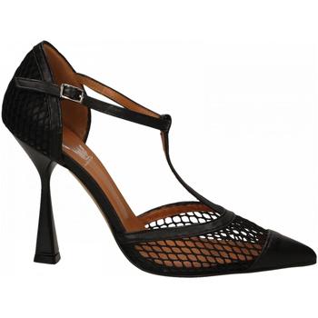 Pantofi Femei Pantofi cu toc Mivida CHIFFON+RETE nero