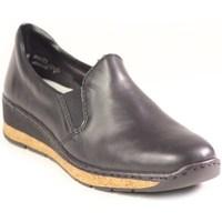 Pantofi Femei Mocasini Rieker 5976600 Negre