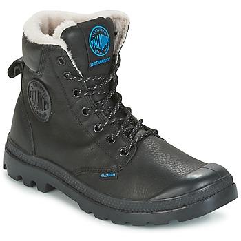 Pantofi Ghete Palladium PAMPA SPORT WPS Negru