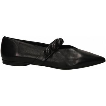 Pantofi Femei Balerin și Balerini cu curea Halmanera LALI BARON nero