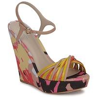 Pantofi Femei Sandale și Sandale cu talpă  joasă Bourne KARMEL Bej /  multicolor