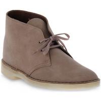 Pantofi Bărbați Ghete Clarks DESERT BOOT MUSHROOM Marrone
