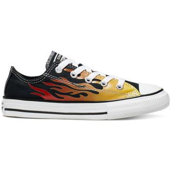 Pantofi Copii Pantofi sport Casual Converse Chuck taylor all star ox Negru