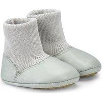 Pantofi Fete Ghete Bibi Shoes Ghetute Unisex Bibi Afeto Gri Crosetate Gri