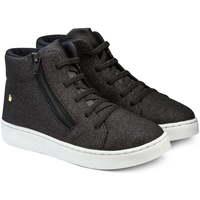 Pantofi Fete Ghete Bibi Shoes Ghete Fete Bibi Urban Negru Glitter Negru