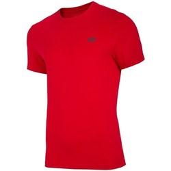 Îmbracaminte Bărbați Tricouri mânecă scurtă 4F TSM003 Roșii