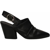 Pantofi Femei Saboti Mat:20 WEST nero-nero
