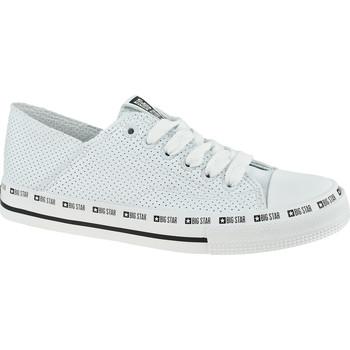 Pantofi Femei Sneakers Big Star Shoes Blanc