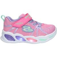 Pantofi Copii Pantofi sport Casual Skechers 302042 Pink