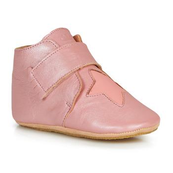 Pantofi Fete Papuci de casă Easy Peasy KINY ETOILE Roz