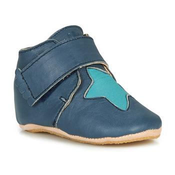Pantofi Copii Papuci de casă Easy Peasy KINY ETOILE Albastru