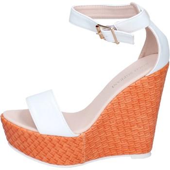 Pantofi Femei Sandale  Solo Soprani BN642 Alb