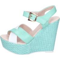 Pantofi Femei Sandale  Solo Soprani BN643 Verde